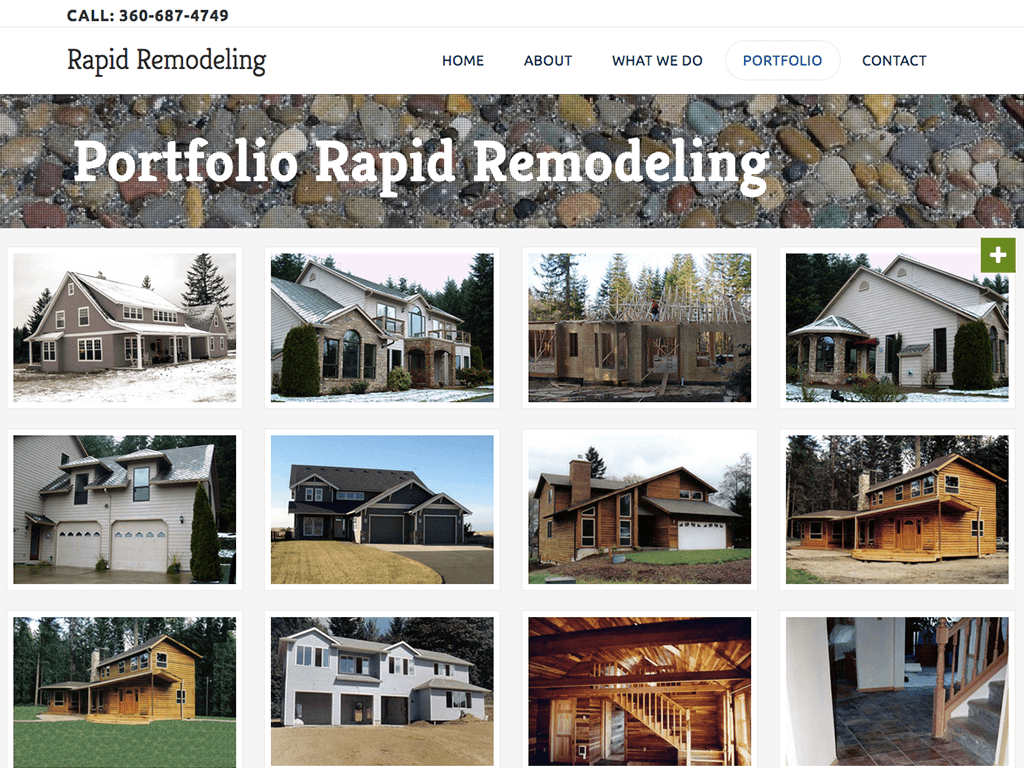 Rapid Remodeling website example